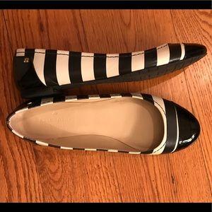 EUC Kate Spade Flats, Striped